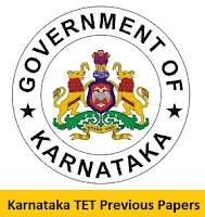 Karnataka TET Previous Papers
