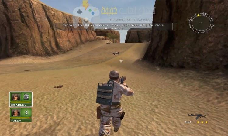 تحميل لعبة عاصفة الصحراء 1 للكمبيوتر بحجم صغير
