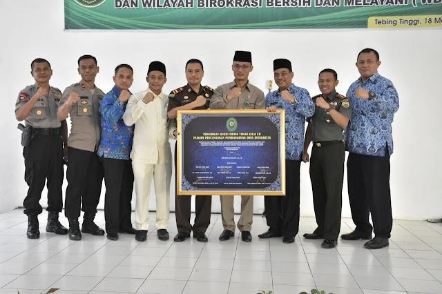 Walikota Hadiri Pencangan Pembangunan Zona Integritas
