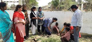 पर्यावरण के लिए लगाए गए पौधे, माँ मूर्ति ग्रुप ऑफ प्लांटेशन्स संस्था के सदस्यों ने किया सराहनीय कार्य  | #NayaSaberaNetwork
