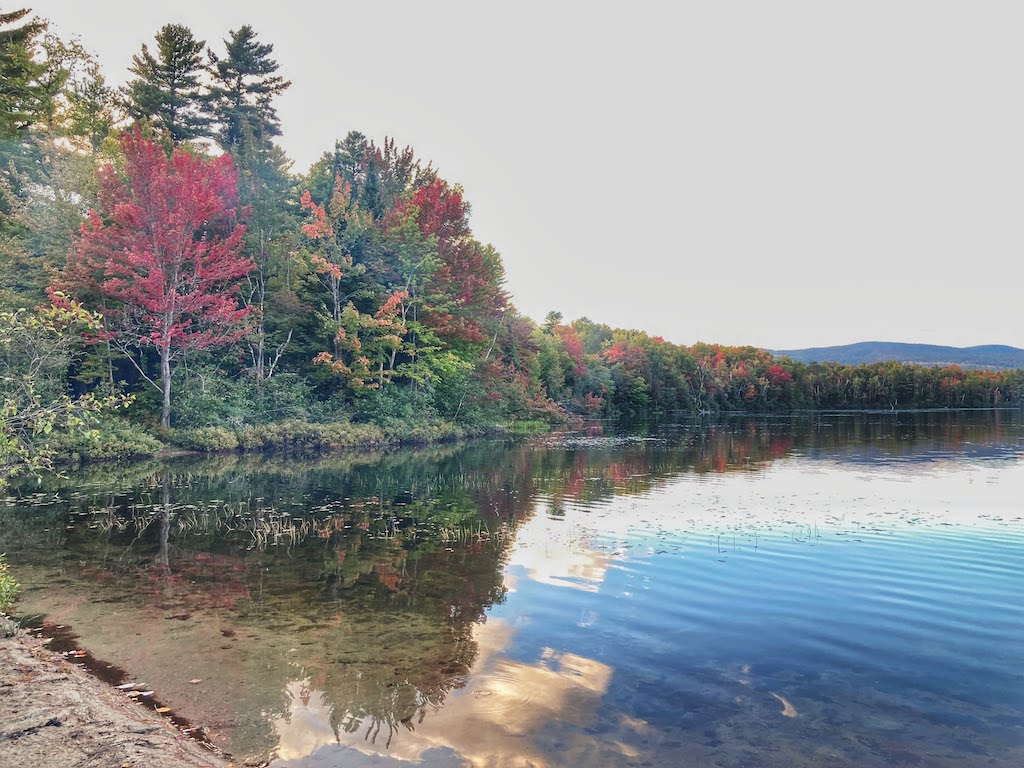 Rambling Around Vermont: Fall Camping at Brighton State Park