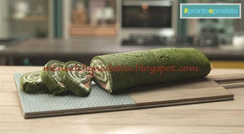 Pronto e postato - Rotolo di spinaci ricetta Benedetta Parodi