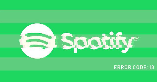 Geekers Blog: Solución error 18 de Spotify