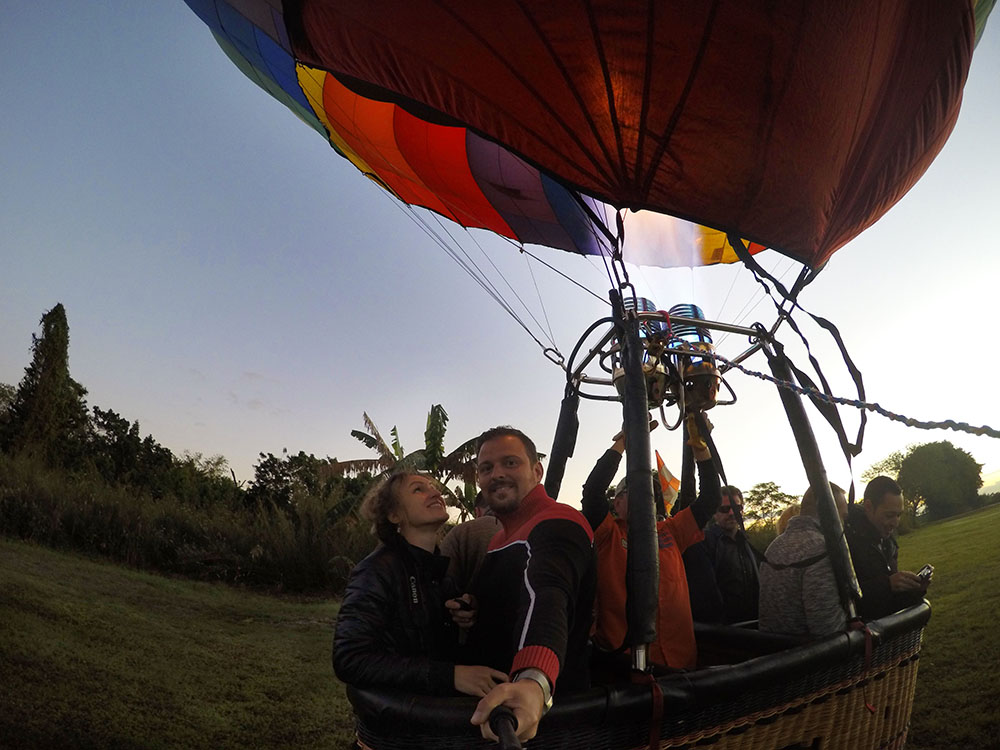 Hot Air Balloon Flight in Miami