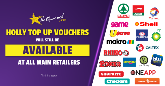 Holly Top Up Vouchers