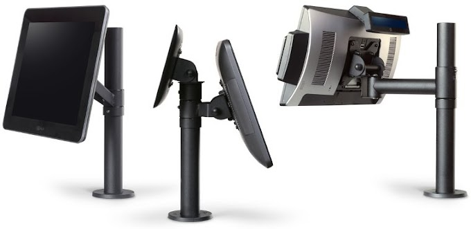 Using POS Mounts - Clear Your Desk Clutter with POS Mounts