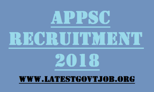 APPSC Recruitment 2018 for Junior Engineer (Civil) 114 Vacancies | www.appsconline.in
