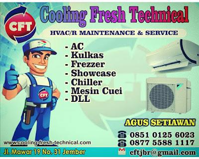 servis service ac jember