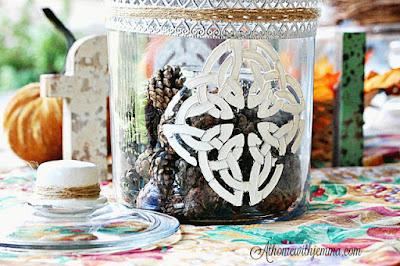 DIY-craft-stencil-Fall-jar-pinecones-candle-athomewithjemma