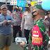 Dandim 0504/JS Bersama Kapolres Metro Jaksel Kampanye Sosialisasikan Protokol Kesehatan Lawan Pandemi Covid-19