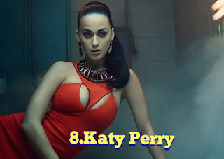 Katy Perry Pop singer , world best singer and songwriter