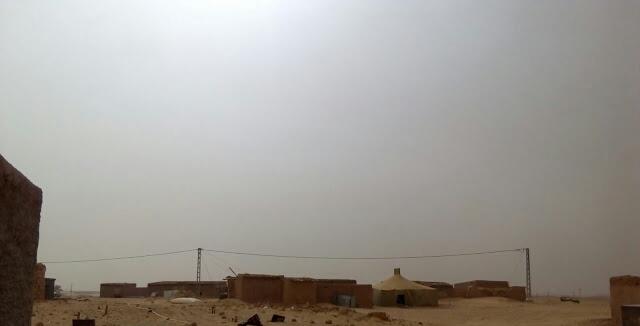 Esto sí que es calor de verdad: 51,7 grados, récord de temperaturas en los campamentos saharauis