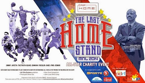 PLDT Home: The Last Home Stand 2014 poster