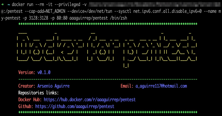 Pentest : Tools To Create An Pentest Environment Easily & Quickly