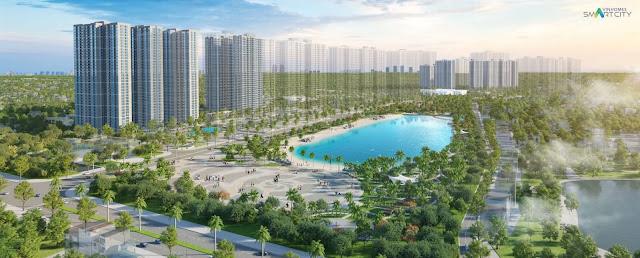Phối cảnh dự án chung cư thông minh Vinhomes Smart City