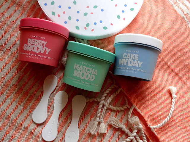 I Dew Care Ice Cream Mask Collection