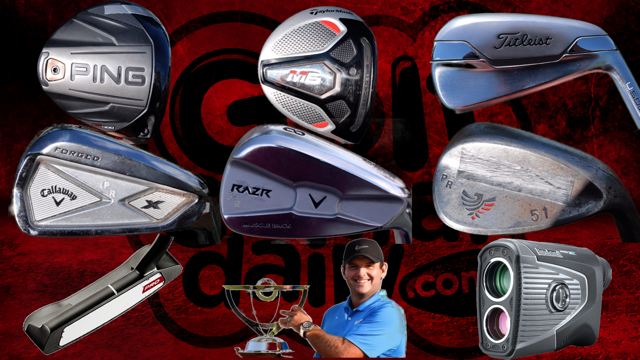 What's In the Bag Patrick Reed