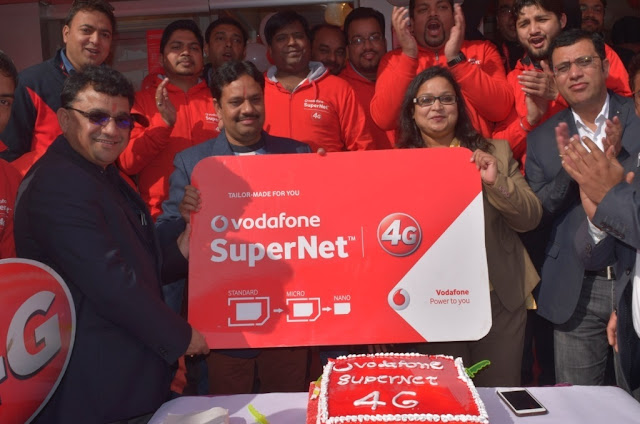 VODAFONE SuperNetTM 4G LAUNCHED IN BIJNOR