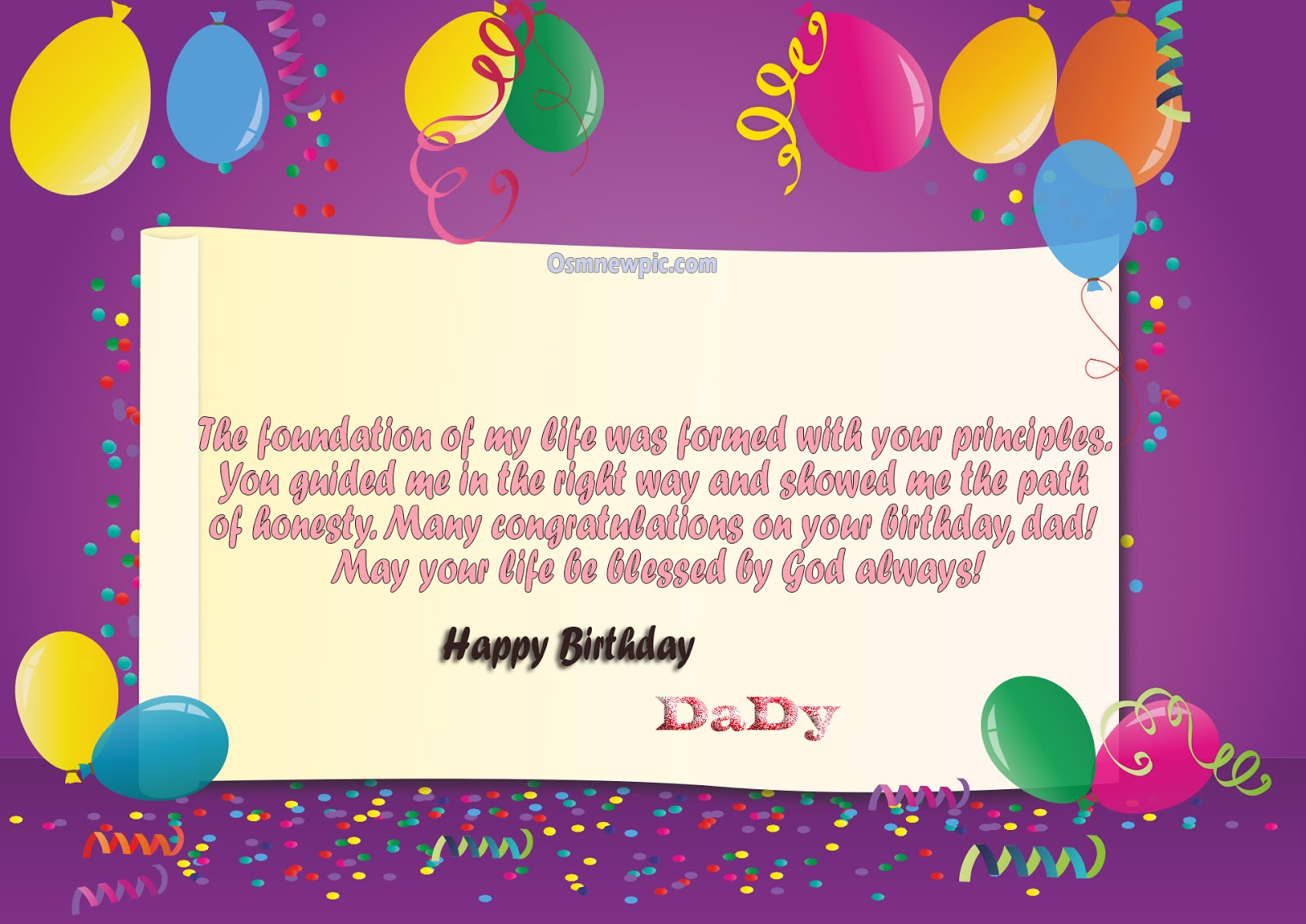 Quotes Of Happy Birthday Dad