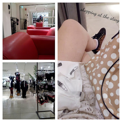 The Sting Shopping Waiting Room Clothing Shoes Sofas