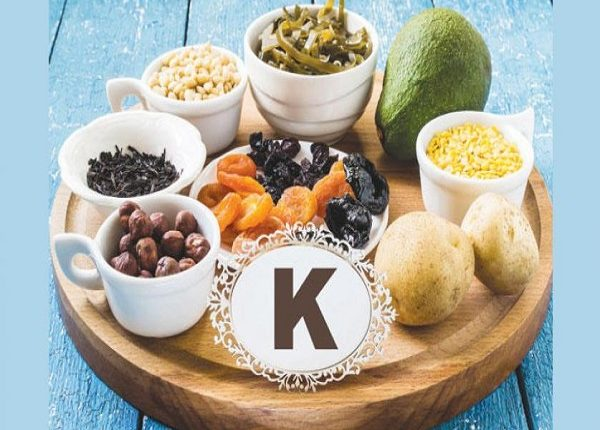 Where is potassium in foods?