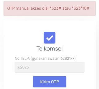 Jagoanssh tembak paket XL, Telkomsel, Axis, Indosat, tri