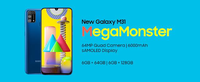 Samsung Galaxy M31 specification