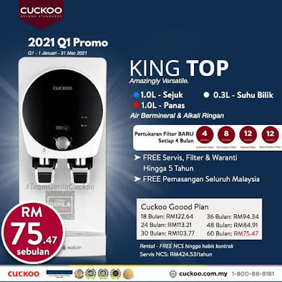 Promosi King Top by Cuckoo