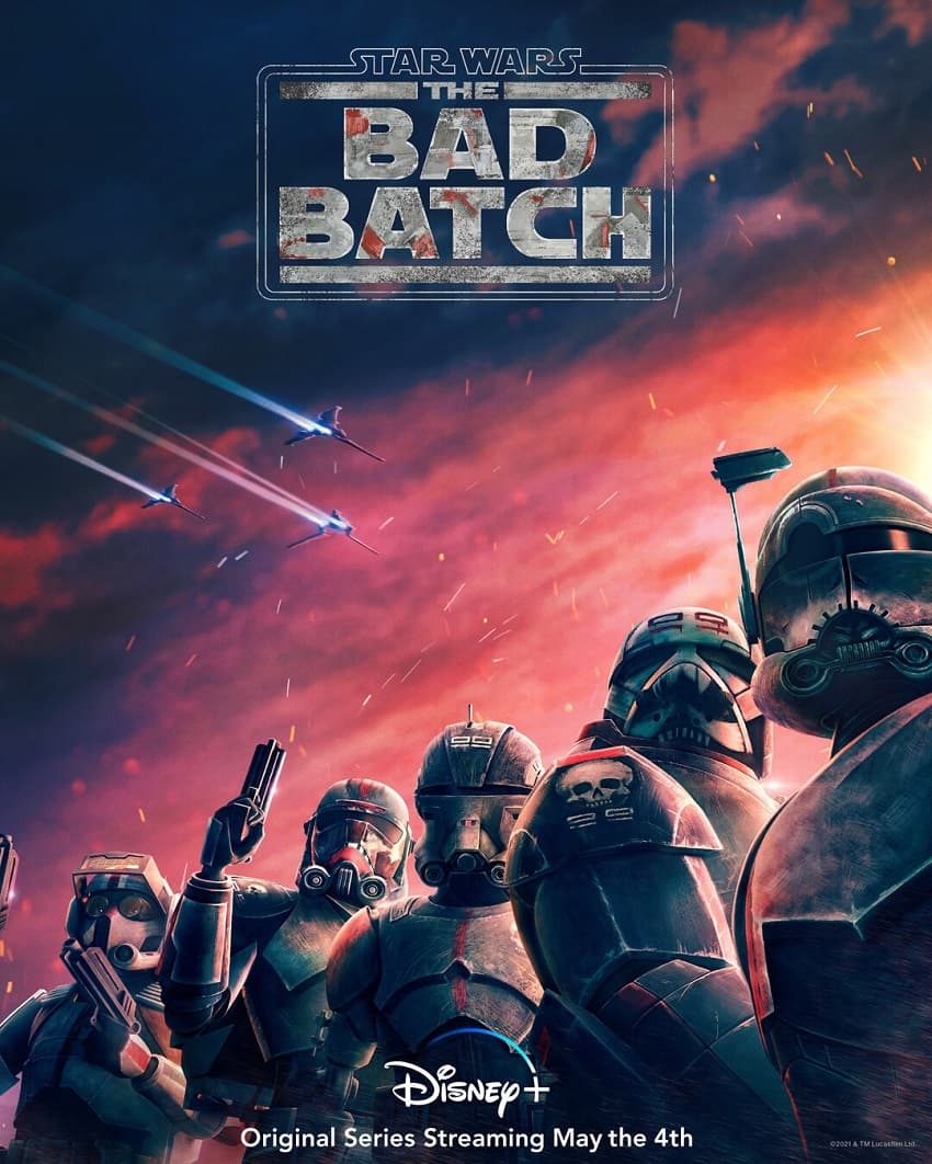 Star Wars: The Bad Batch - Постер