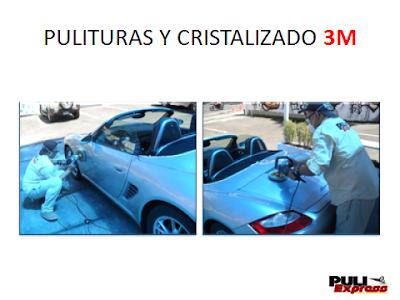 Pulitura 3M a domicilio en Caracas autolavado