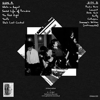 Alive She Died – Viva Voce + Unreleased Tracks 1984 - 86_back