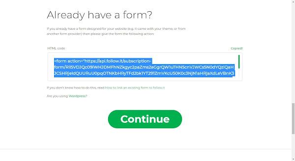 Thay đổi nhận tin bài qua Email từ Feefburner sang Follow.it