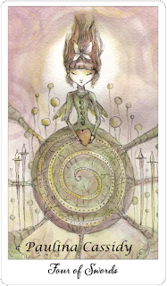 joie de vivre tarot four of swords
