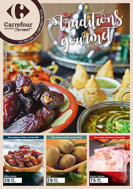 catalogue carrefour market gourmet mars avril 2020