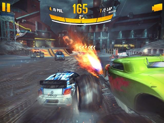 Gameloft buka registrasi game terbarunya Asphalt Xtreme