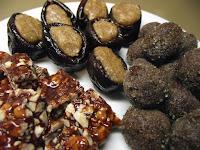 Douceurs de Noël 2013 : nougat noir, fruits déguisés et truffes au cacao