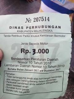 dishub majalengka diminta tindak tegas parkir ilegal