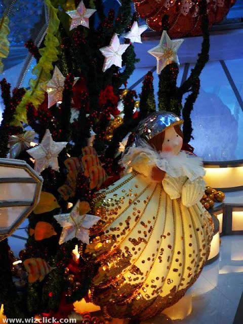 Cute Christmas Sea Fairy