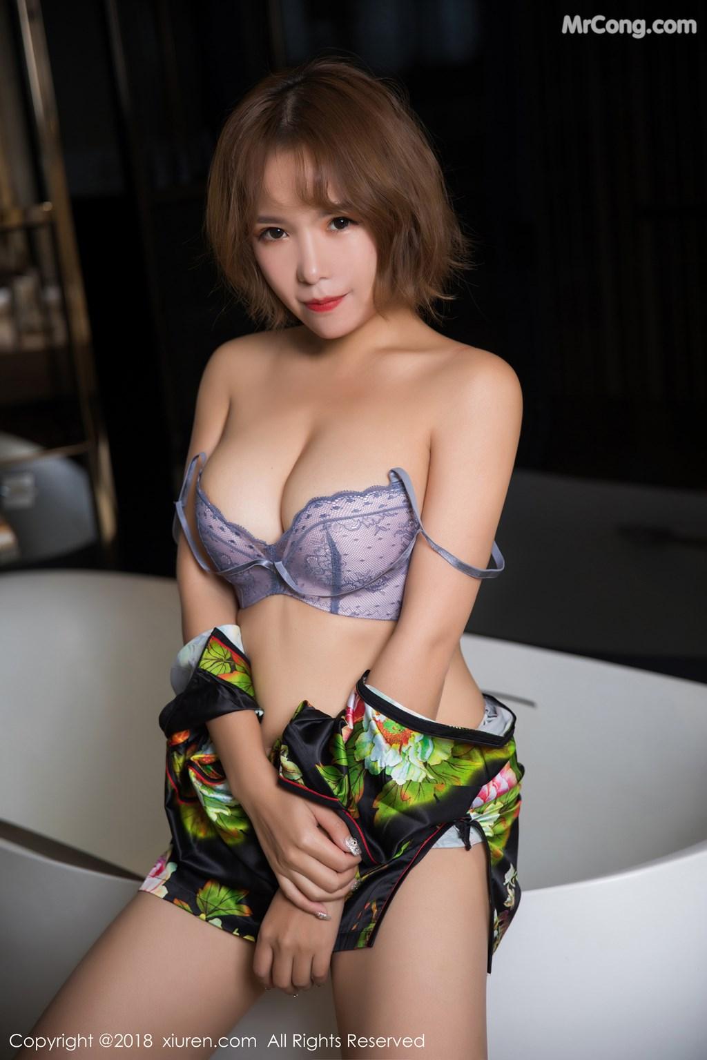 Image XIUREN-No.1264-Ya-Wen-MrCong.com-028 in post XIUREN No.1264: Người mẫu Ya Wen (雅雯) (61 ảnh)
