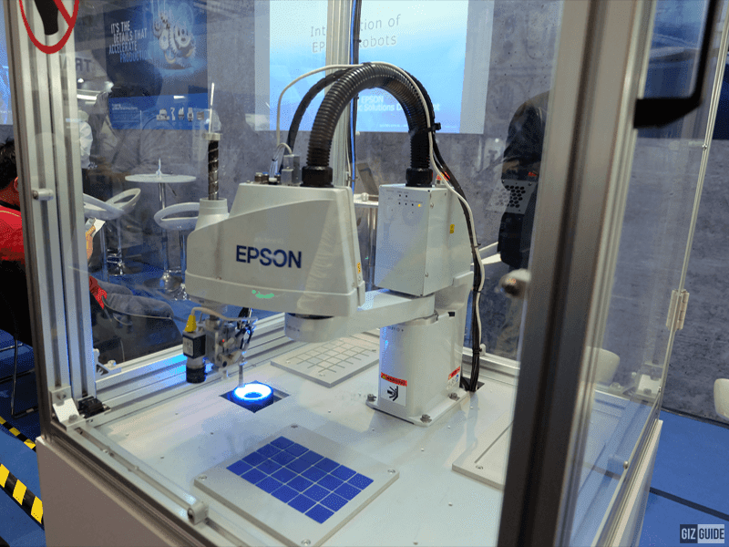 Epson showcases its newest lineup of  robotic arms in the Philippines