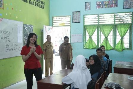 Kadisdik Asahan Tinjau Kesiapan Bimtek Siswa Siswi Sempoerna Foundation