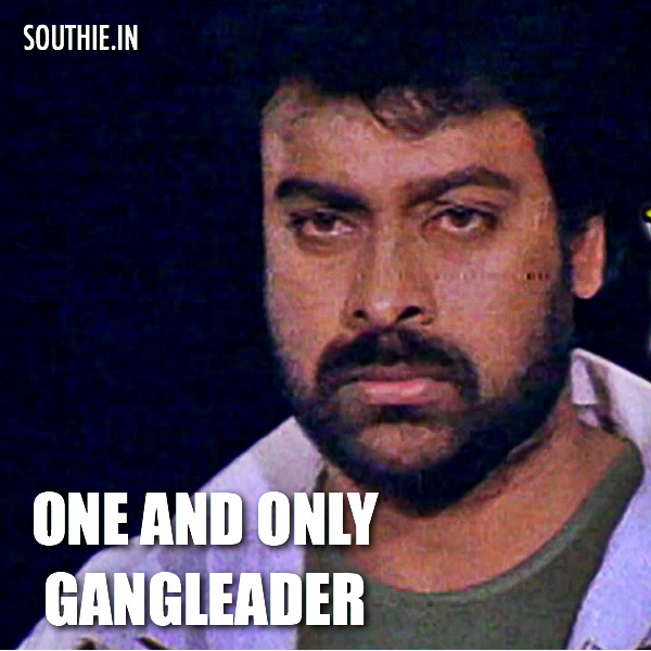 Sai Dharam Tej as Gang Leader does not please fans. It is only Megastar Chiranjeevi who can be seen as the 'GANG LEADER', Megastar Chiranjeevi, Megastar Gangleader, Megastar Gang leader, one and only Megastar, Southie