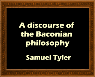 A discourse of the Baconian philosophy