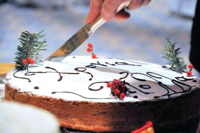 Κοπή πρωτοχρονιάτικης πίτας στο Γηροκομείο Ναυπλίου