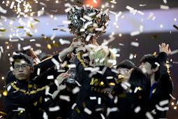 Juara turnamen League of Legends, dihadiahi   Rp 11,7 Miliar