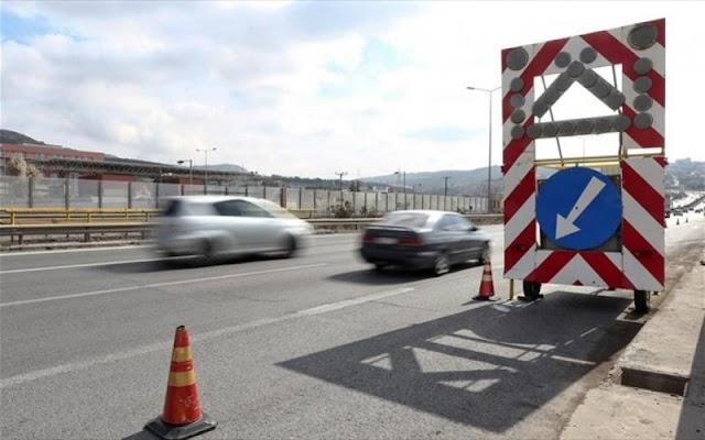 Έργα για 5 + 5 μέρες σε δρόμο της Θεσσαλονίκης