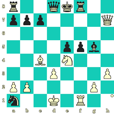 Les Blancs jouent et matent en 2 coups - Robert Fischer vs M McDermott, New York, 1964