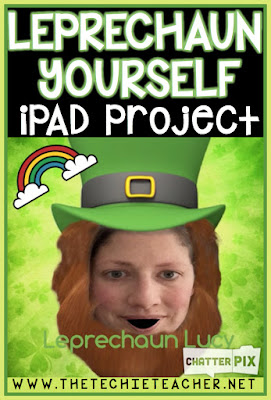 All you will need for this digital St. Patrick's Day iPad Project is an iPad and the free apps, Leprechaun Yourself and Chatterkid. Easy iPad project for any classroom!