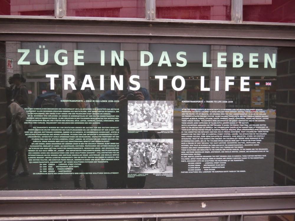 רכבות לחיים - פרידריך שטראסה ברלין