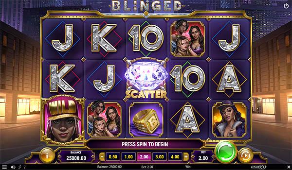 Main Gratis Slot Indonesia - Blinged (Play N GO)